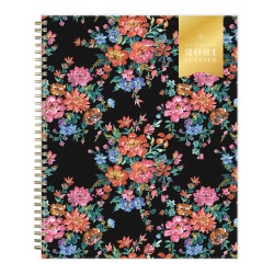 "Blue Sky™ Day Designer Weekly/Monthly Planner, 8-1/2"" x 11"", Vintage Bouquet, January To December 2021, 124785"