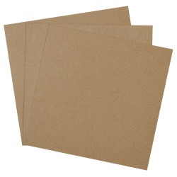 "Office Depot® Brand Chipboard Pads, 14"" x 14"", 100% Recycled, Kraft, Case Of 460"