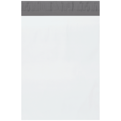 "Office Depot® Brand 9"" x 12"" Poly Mailers, White, Case Of 1,000 Mailers"