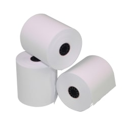 "Office Depot® Thermal Paper Roll, 2 1/4"" x 50', White"
