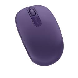 Microsoft® 1850 Wireless Mobile Mouse, Purple