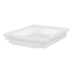 "HON® Flagship Storage Collection 3"" Bin Kit, Medium Size, Translucent"