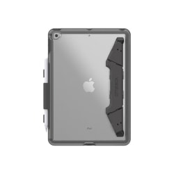 OtterBox iPad (7th gen) UnlimitEd Case - For Apple iPad (7th Generation) Tablet - Clear, Gray - Synthetic Rubber, Polycarbonate, Polyurethane