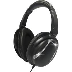 Maxell Bass 13 Headphones - Stereo - Wired - Over-the-head - Binaural - Circumaural - Black