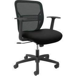 HON® Gateway Fixed Arms Task Chair, Black