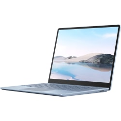 "Microsoft Surface Laptop Go 12.4"" Touchscreen Notebook - 1536 x 1024 - Intel Core i5 (10th Gen) i5-1035G1 1 GHz - 8 GB RAM - 256 GB SSD - Ice Blue - Windows 10 Home in S mode - Intel UHD Graphics - PixelSense - IEEE 802.11ax Wireless LAN Standard"