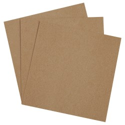"""Office Depot® Brand Chipboard Pads, 8"""" x 8"""", 100% Recycled, Kraft, Case Of 675"""