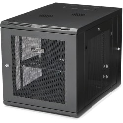 StarTech.com Wallmount Server Rack Cabinet - Hinged Enclosure 12U - Wallmount Network Cabinet - 32in Deep - Use this wall mount network cabinet to mount your server or networking equipment to the wall with a hinged enclosure for easy access - Save space