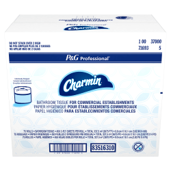 Charmin® Commercial Use 2-Ply Toilet Paper, 450 Sheets Per Roll, Pack Of 75 Rolls