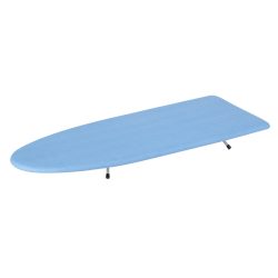 Honey-Can-Do Wooden Tabletop Ironing Board, Blue