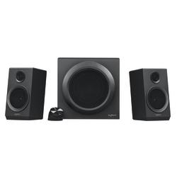 Logitech Z333 2.1 Speaker System - 40 W RMS - Black - 55 Hz to 20 kHz