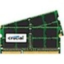 Crucial 8GB (2 x 4 GB) DDR3 SDRAM Memory Module - For Desktop PC - 8 GB (2 x 4GB) - DDR3-1600/PC3-12800 DDR3 SDRAM - 1600 MHz - CL11 - 1.35 V - Non-ECC - Unbuffered - 204-pin - SoDIMM - Lifetime Warranty