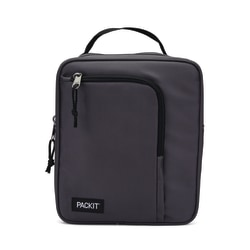 PackIt® Freezable Commuter Lunch Bag, Charcoal
