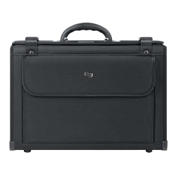 "Solo Classic Catalog Case For 16"" Laptops, Black"