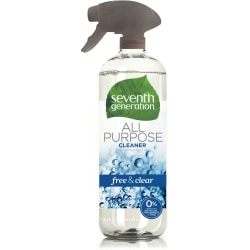 Seventh Generation All Purpose Cleaner - Spray - 23 fl oz (0.7 quart) - 8 / Carton - Clear