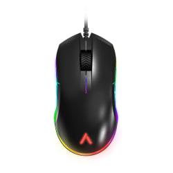 Azio ATOM Ambidextrous RGB Gaming Mouse, Black, GM-ATOM-01