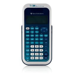 Texas Instruments® TI-34 MultiView™ Scientific Calculator