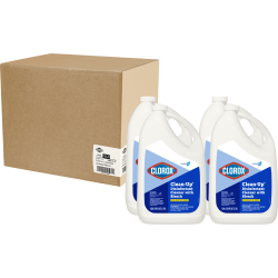 Clorox Commercial Solutions Clorox Clean-Up All-Purpose Cleaner with Bleach - Liquid - 1gal - Fresh Scent - 4 / Carton - Refill