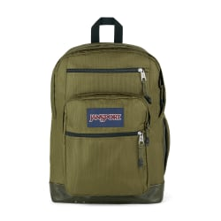 """JanSport® Cool Student Remix Backpack With 15"""" Laptop Pocket, Army Green"""