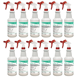 Diversey™ Bath Mate™ RTU Disinfectant/Cleaner, Fresh Scent, 32 Oz Bottle, Pack Of 12 Bottles
