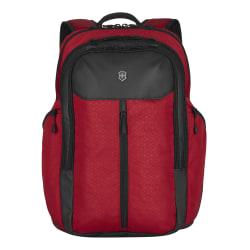 "Victorinox® Altmont Original Vertical-Zip Backpack With 17"" Laptop Pocket, Red"
