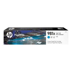 HP 981X (L0R09A) High-Yield Cyan Ink Cartridge