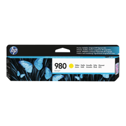 HP 980 - Yellow - original - ink cartridge government - for Officejet Enterprise Color MFP X585; Officejet Enterprise Color Flow MFP X585