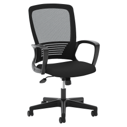 basyx by HON® Mesh High-Back Chair, Black