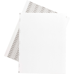 Tabbies® Permanent Transcription Label Sheets, Unruled, 59534, White, Box Of 1,000