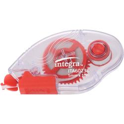Integra Correction Tape - 2 Dispensers/PK - Holds Total 1 Tape(s) - White - 2 / Pack