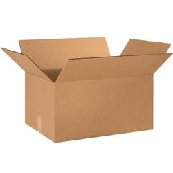 "Office Depot® Brand Double-Wall Heavy-Duty Corrugated Cartons, 24"" x 16"" x 12"", Kraft, Box Of 10"