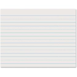 "Pacon® Skip-A-Line Ruled Newsprint, Grade 1, 8 1/2"" x 11"", 1"" LW, Pack Of 500 Sheets"