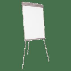 "SKILCRAFT® Dual-Sided Floor/Desktop Presentation Easel, 27"" x 35"" Board, 42"" to 70"" High, Steel, Graphite (AbilityOne 7520-01-642-1222)"
