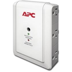 APC Essential SurgeArrest P6W 6-Outlet Surge Suppressor, White
