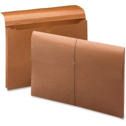 """Smead 100 Pct Recycled Redrope Wallet - Legal - 8 1/2"""" x 14"""" Sheet Size - 2"""" Expansion - Stock, Tyvek - Redrope - Recycled - 10 / Box"""