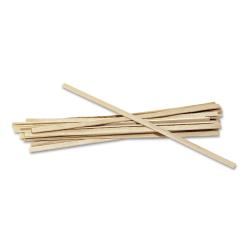 "Royal Paper Wood Coffee Stir Sticks, 5-1/2"", Carton Of 10,000 Sticks"