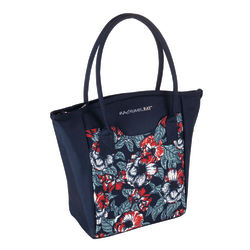 Rachael Ray Milan Insulated Lunch Tote Navy Office Depot