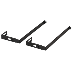 Office Depot® Brand 30% Recycled Panel System Partition Hangers, Set Of 2