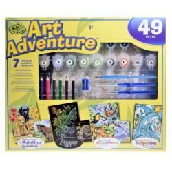 Royal & Langnickel Art Adventure Super Value Set, Yellow 101 Set
