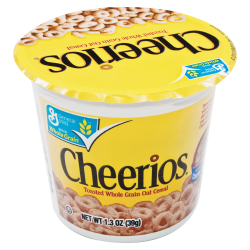 Cheerios® Cereal-In-A-Cup, 1.3 Oz, Box Of 6