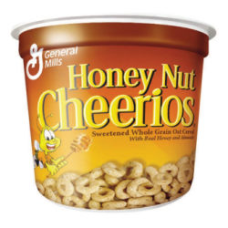 Honey Nut Cheerios® Cereal-In-A-Cup, 1.83 Oz, Pack Of 6
