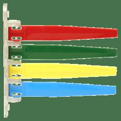 Unimed Exam Room Status Signal Flag, Assorted Colors