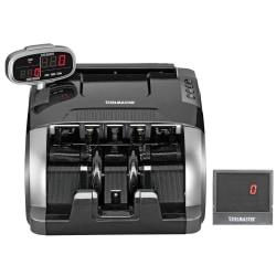 "STEELMASTER® 4800 Standard Currency Counter, 170 Bill Capacity, 11 7/16""H x 9 1/2""W x 8 11/16""D, Black"