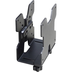 Ergotron CPU Mount for Thin Client, Flat Panel Display - Black - 6 lb Load Capacity