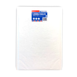 USPS Bubble Mailer, Size #5, White