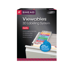 Smead® Viewables® Hanging Folder Labels, Pack of 25