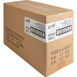 Genuine Joe Individually Wrapped Spoon - 1 Piece(s) - 1000/Carton - 1 x Spoon - Disposable - Polypropylene