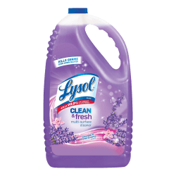 Lysol® Clean & Fresh Multi-Surface Cleaner, 144 Oz, Clean & Fresh Lavender Orchid