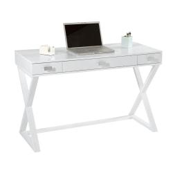 """See Jane Work® Kate 47""""W Writing Desk, White"""