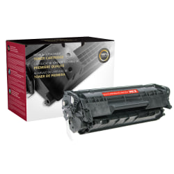 Clover Imaging Group™ CTG12M Remanufactured Black MICR Toner Cartridge Replacement For HP 12A